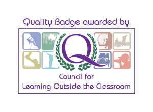 Quality badge awarded by the council for learning outside the classroom